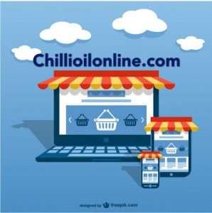 Sun Wah chilli oil sales page