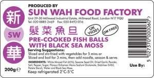 Sea Moss Fish Balls