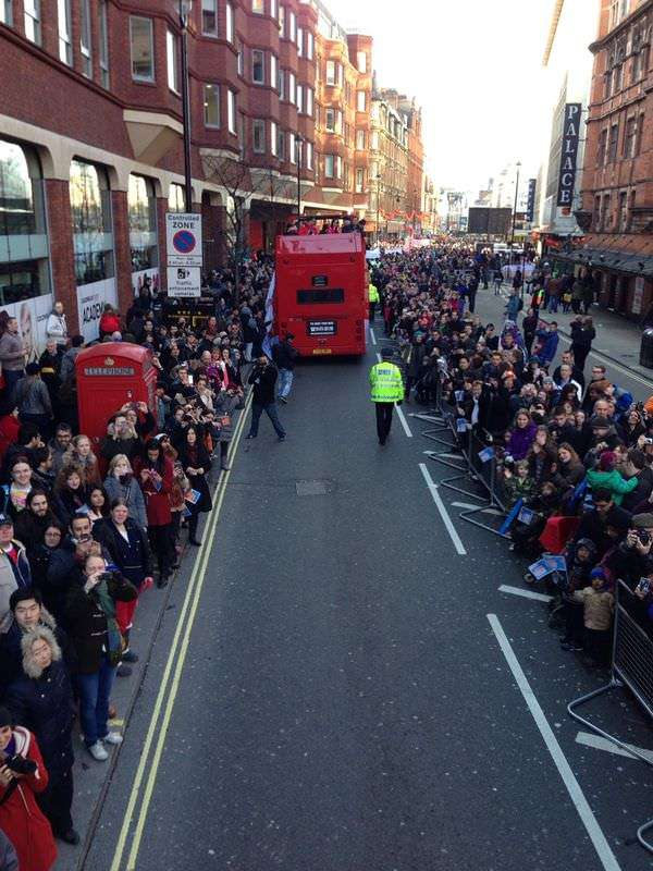 Chinese New Year 2014 - Parade through Shaftesbury Avenue