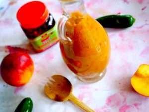 Carribean Spicy Peach Jerk Sauce
