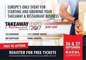 Takeaway expo marketing 2017