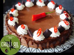 Chocolate Chilli Cheesecake