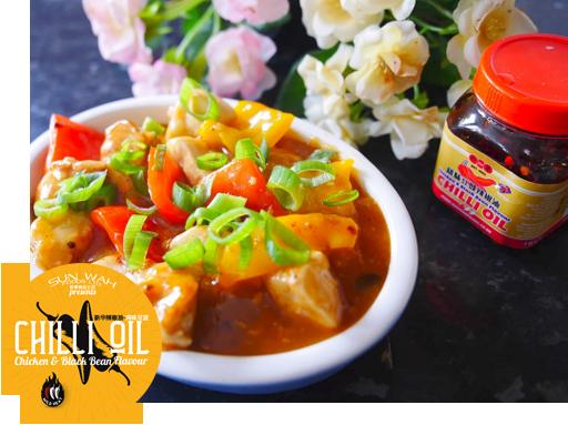 Chilli Garlic Chicken Chicken and Black Bean Flavour